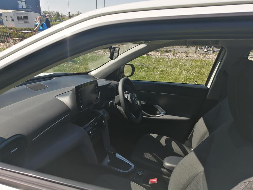 Toyota Yaris Cross Spotted - Cabin