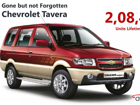 Gone but not Forgotten Series – Chevrolet Tavera