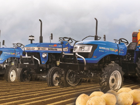 Sonalika Registers its Highest Ever Overall January Sales of 10,158 tractors!