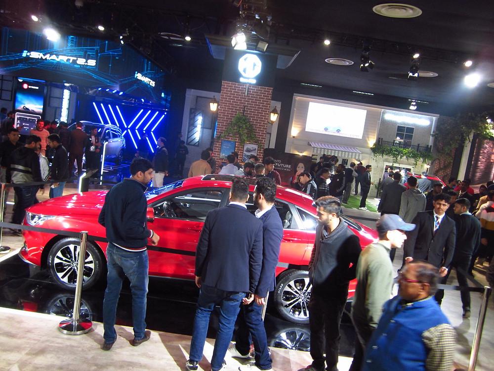MG RC-6 Auto Expo 2020 Crossover sedan