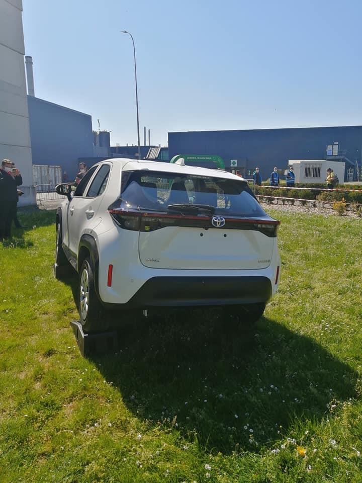 Toyota Yaris Cross Spotted - Rear