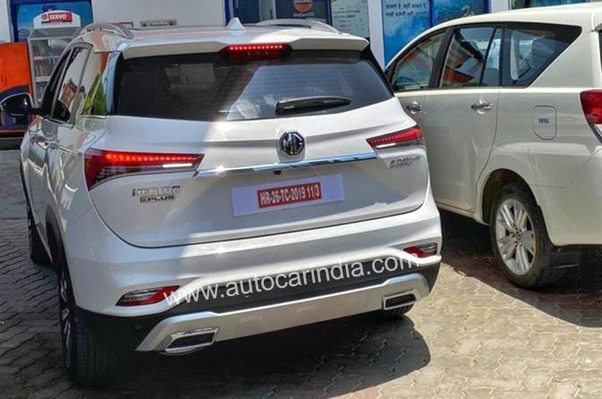 2020 Hector Plus Spotted - Rear