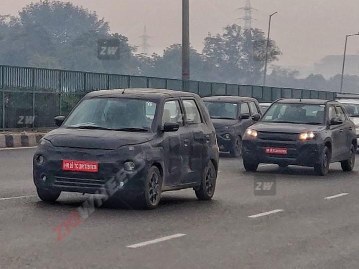 Maruti Suzuki Electric WagonR (Nexa XL5) Testing With Brezza