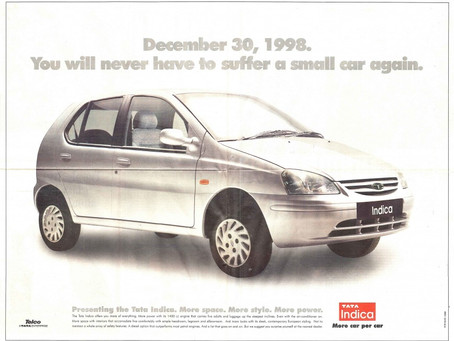 An ode to Tata Indica – 20 years of Indi'genious' car!