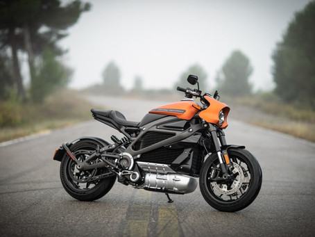 Harley Davidson LiveWire – Harley's first-ever electric motorcycle!