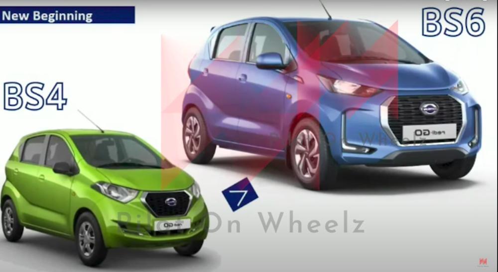 2020 Datsun Redi-Go Facelift