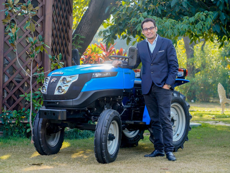 Sonalika Launches 'Tiger Electric' – India's 1st Field Ready Electric Tractor!