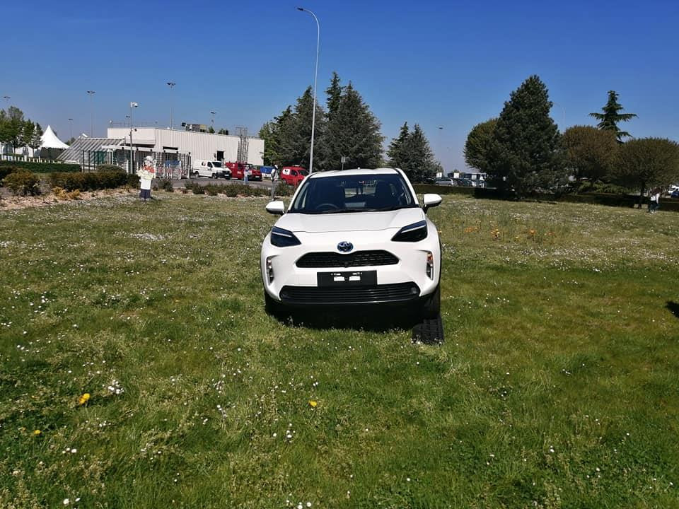Toyota Yaris Cross Spotted - Front