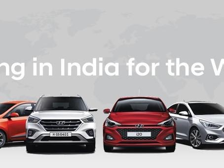 Hyundai India exports 5000 vehicles in May 2020