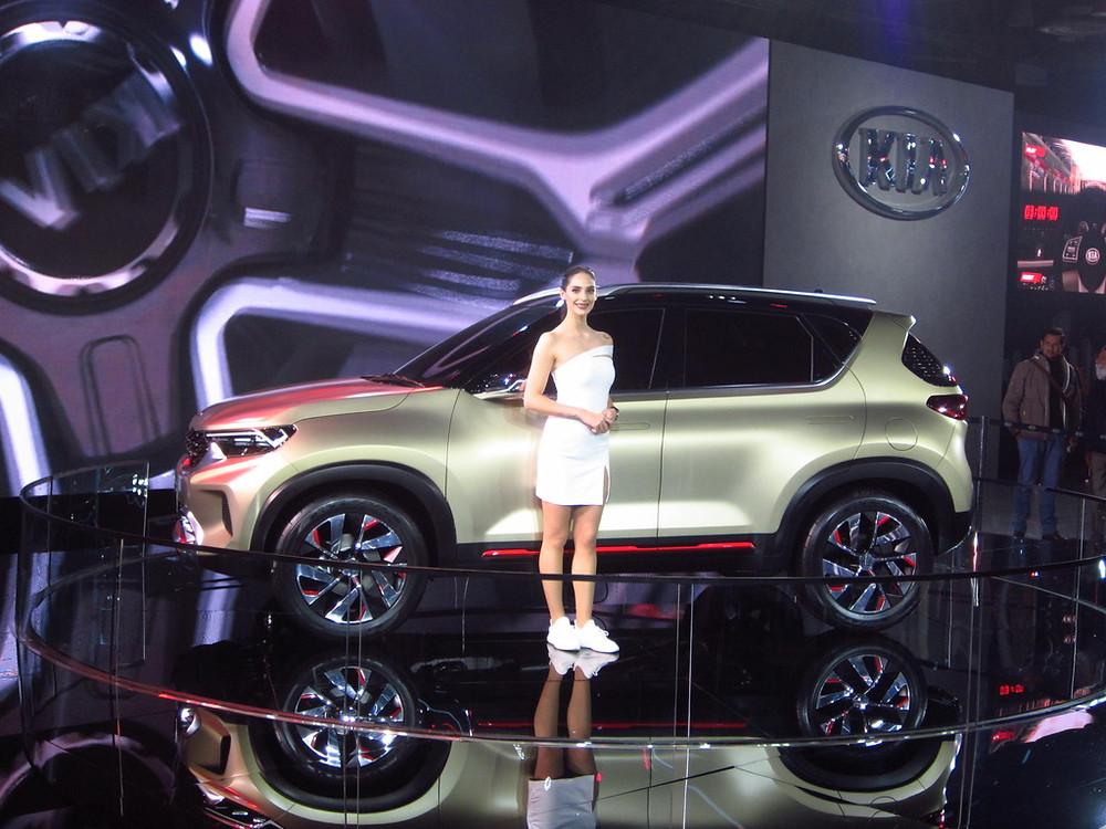 2020 Kia Sonet Side Auto Expo