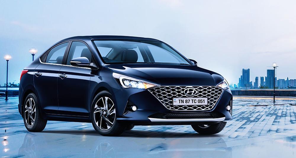 2020 Hyundai Verna Facelift Front