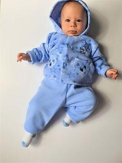 Baby boys cosy pyjamas
