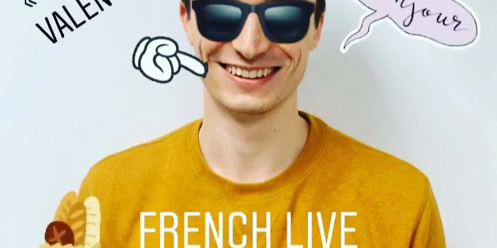 IG & FB LIVE (FRENCH)