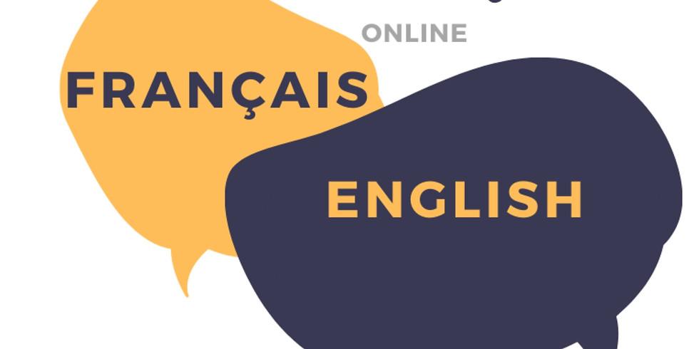 """Online """"échange linguistique"""" Français/ English (FREE)"""