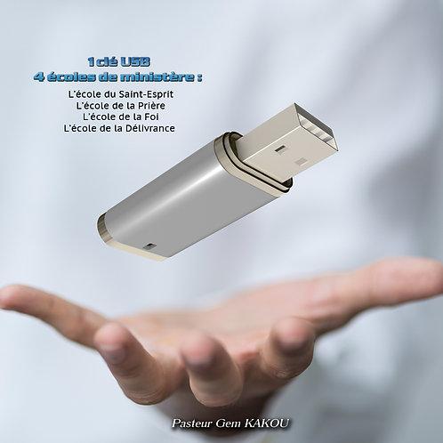1 CLE USB AVEC 4 ECOLES DE MINISTERE !