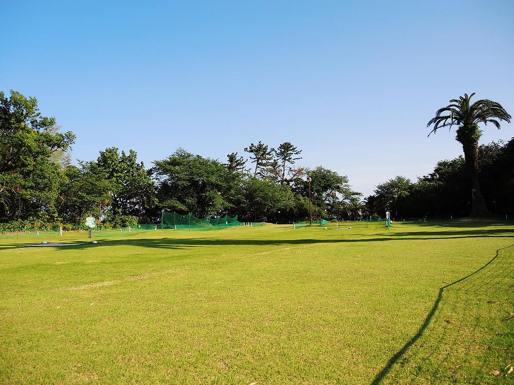 真鶴町お林展望公園のパークゴルフ