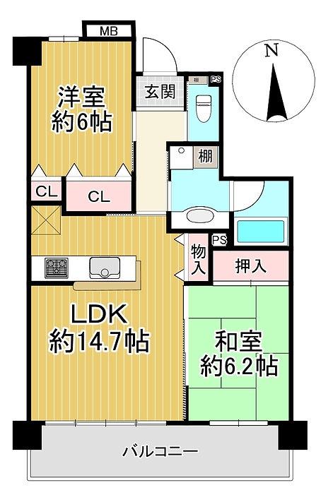 ゼファー湯河原D-PLACE 5階