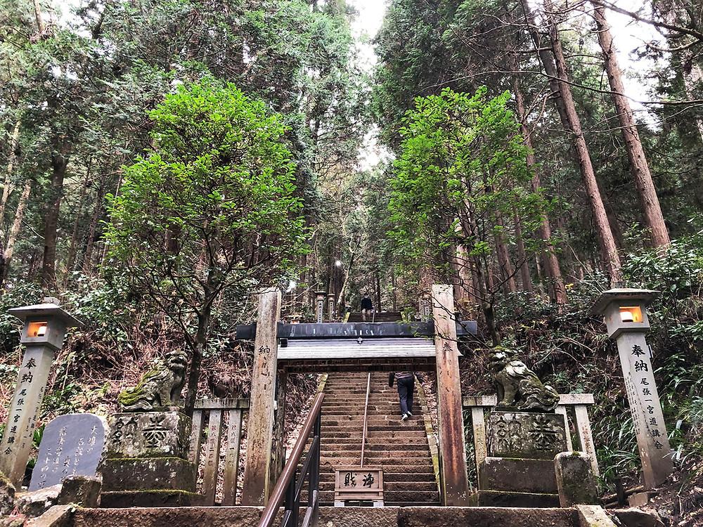 大雄山最乗寺奥の院への入口