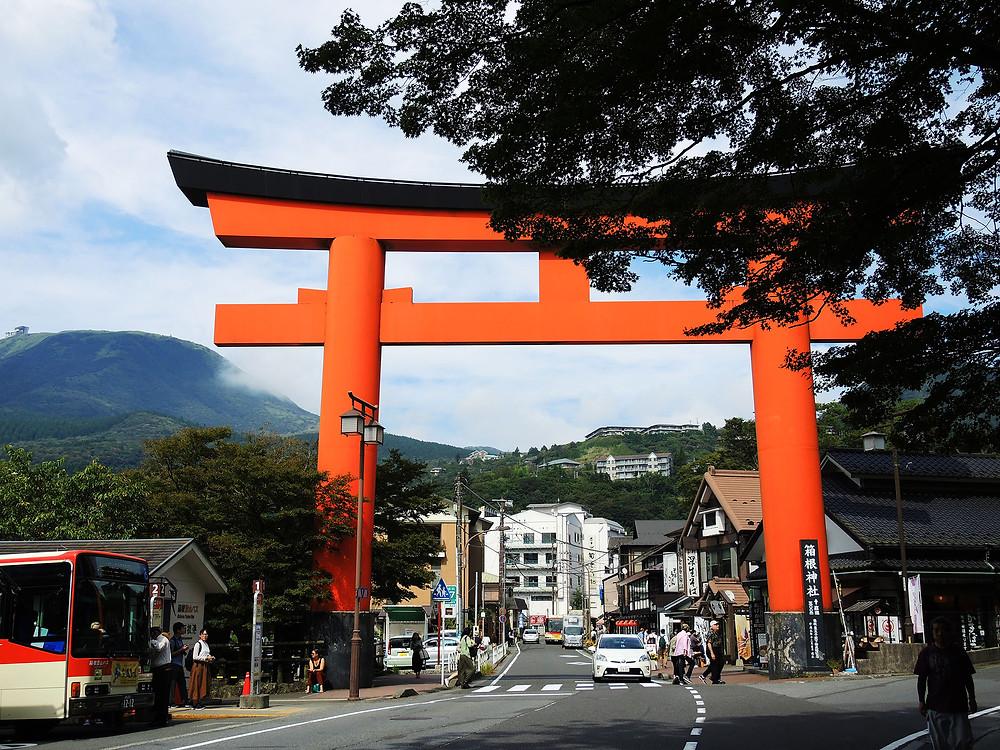 箱根神社第一鳥居