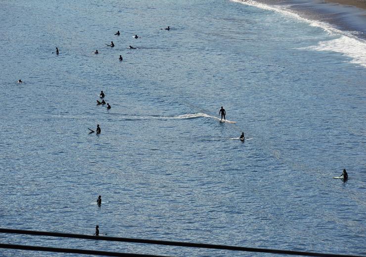 サーフィンスポット吉浜海岸