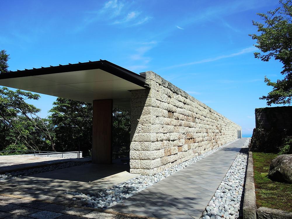 江之浦測候所の建築物