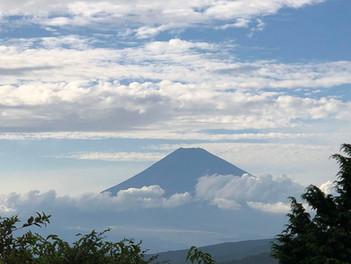 熱海 十国峠から見る富士山