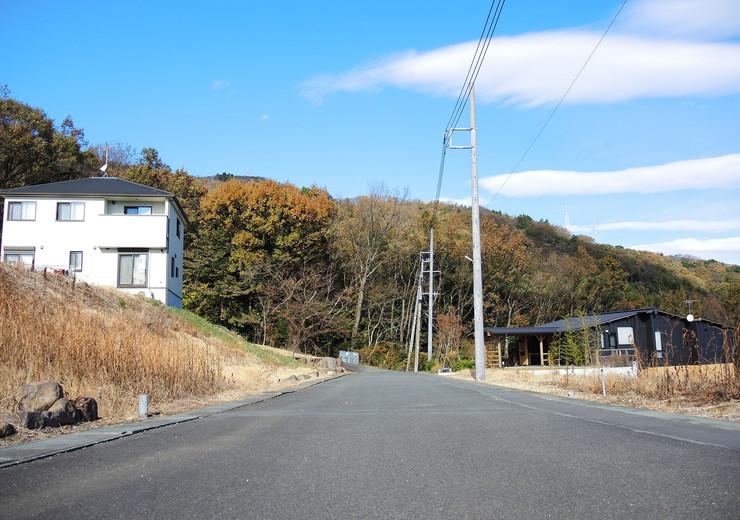 前面道路は熱海市道七尾本宮支線