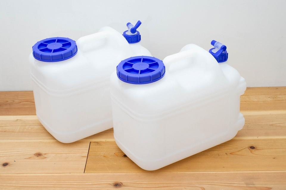 停電による断水の備え