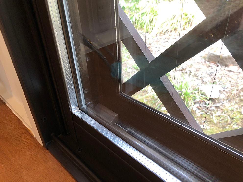 二重窓の設置 別荘の断熱・湿気対策