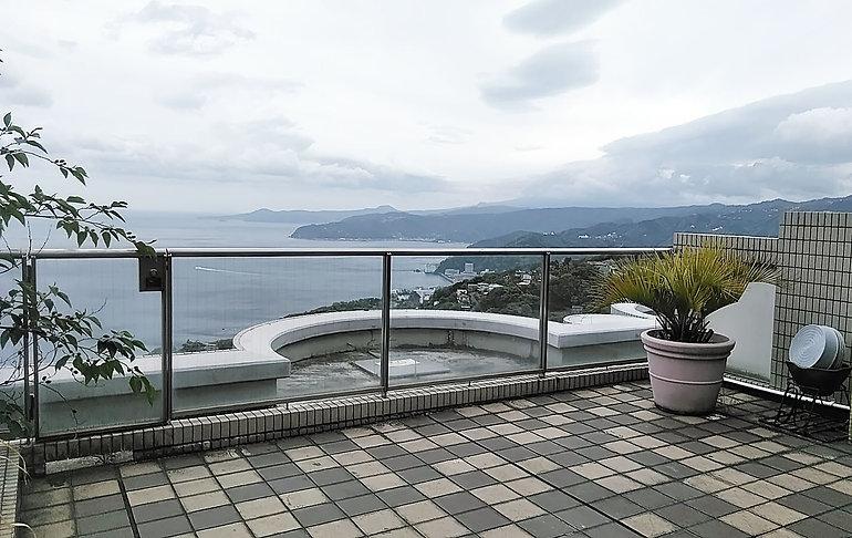 ドメーヌ熱海伊豆山部屋からの眺望.jpg