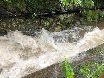 雨に影響される地域の特性について