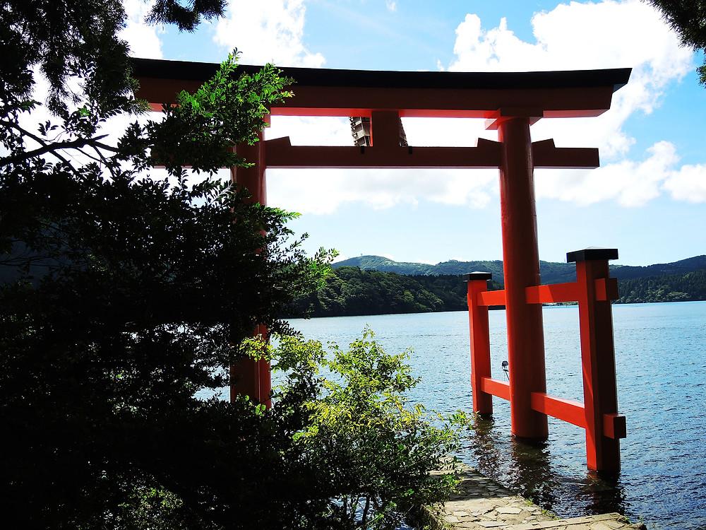 箱根神社平和の鳥居