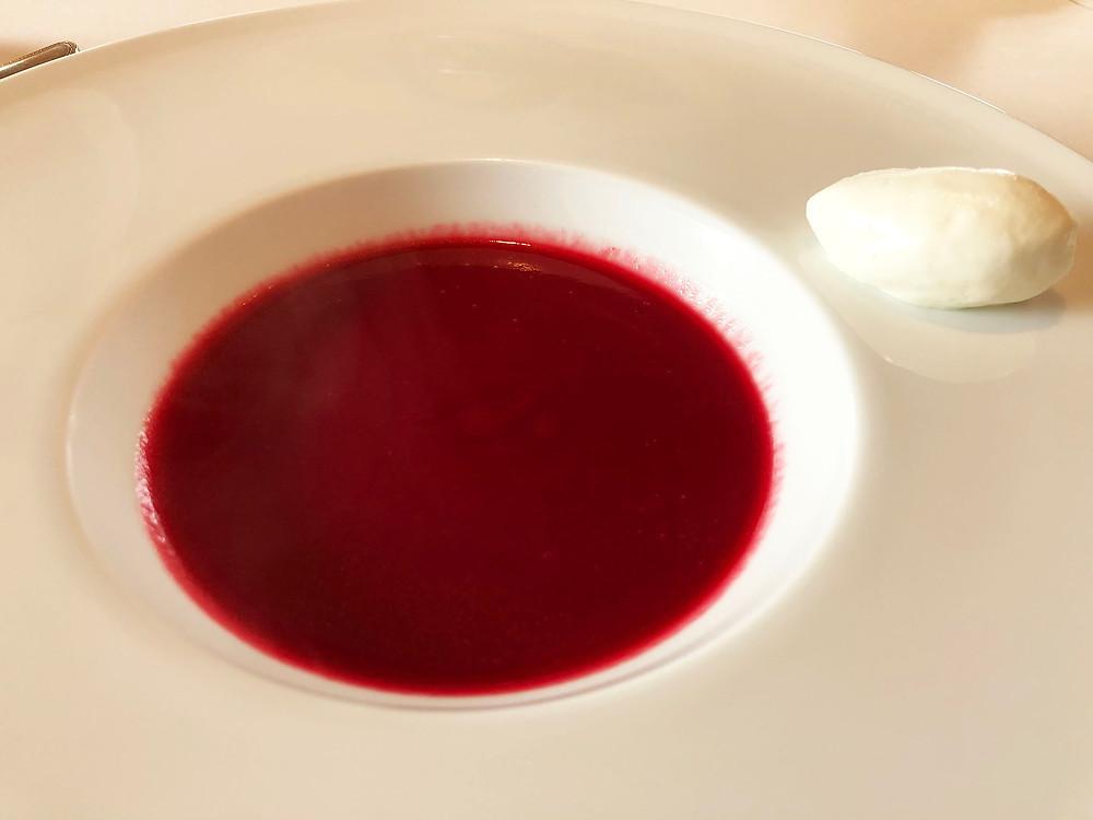 熱海市清水町フレンチビストロソレイアードのスープ