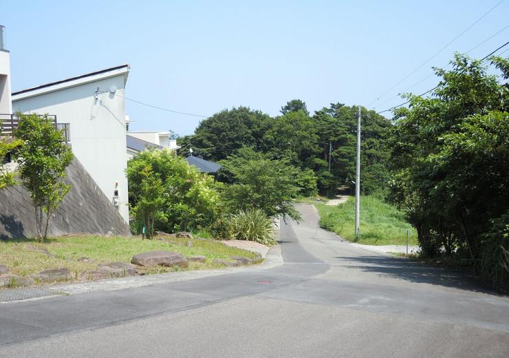 熱海市伊豆山温泉付き別荘地内道路