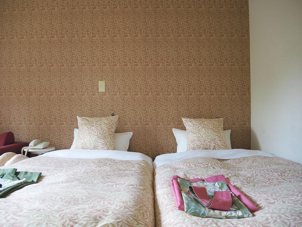 箱根町元箱根売ホテル客室の一部