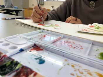 熱海で水彩画教室が始まります