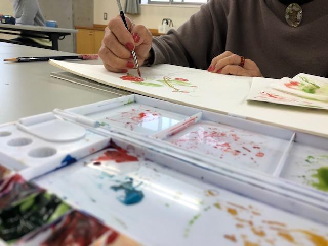 熱海で水彩画教室が開講します