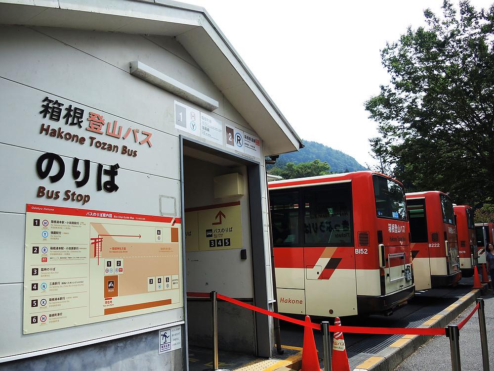 箱根町元箱根バスのりば