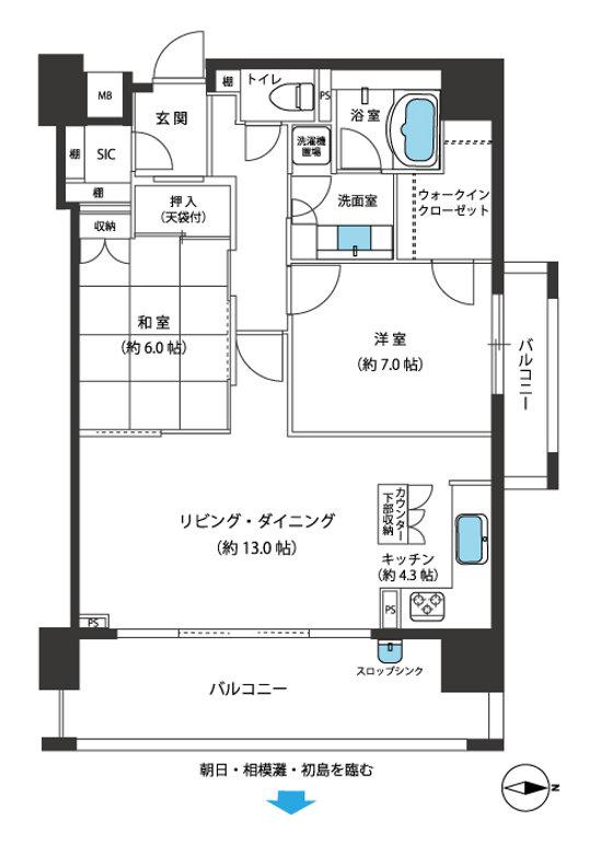 アデニウム熱海オーシャンスイート13階