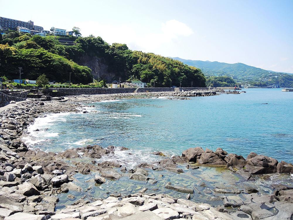 真鶴琴ヶ浜海岸遊歩道