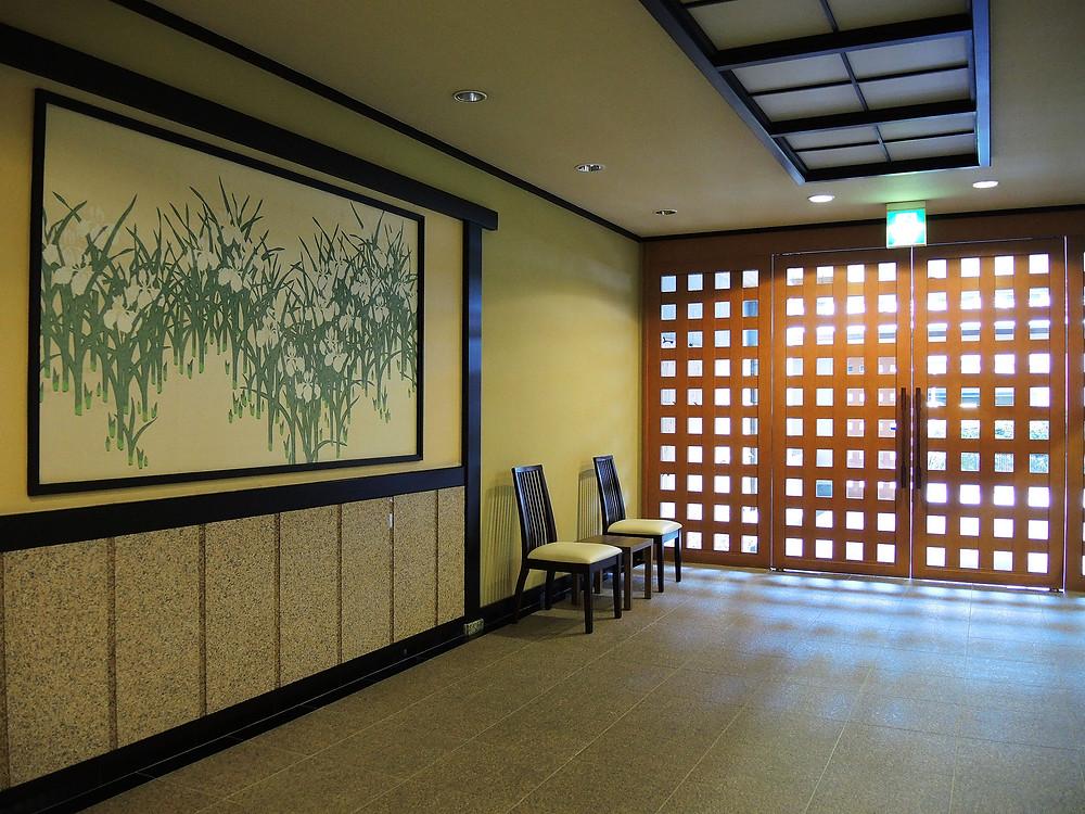 熱海温泉付きマンションのマイキャッスル熱海玄関ロビー