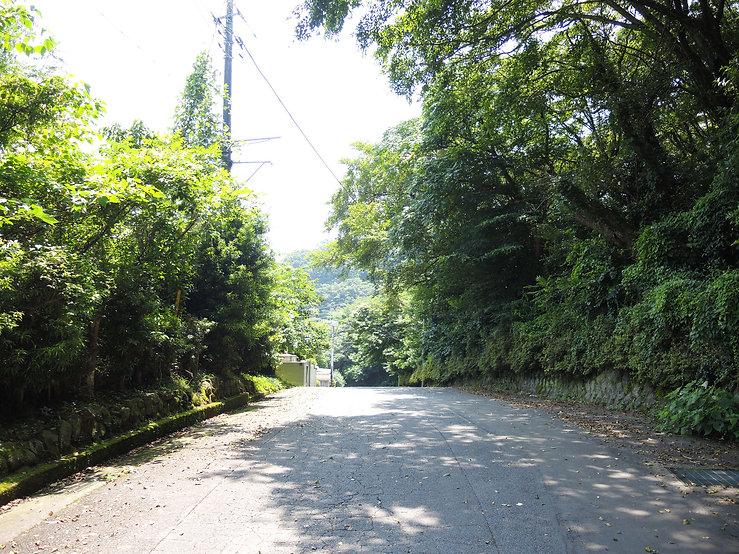 熱海市伊豆山別荘地の温泉権利付き土地