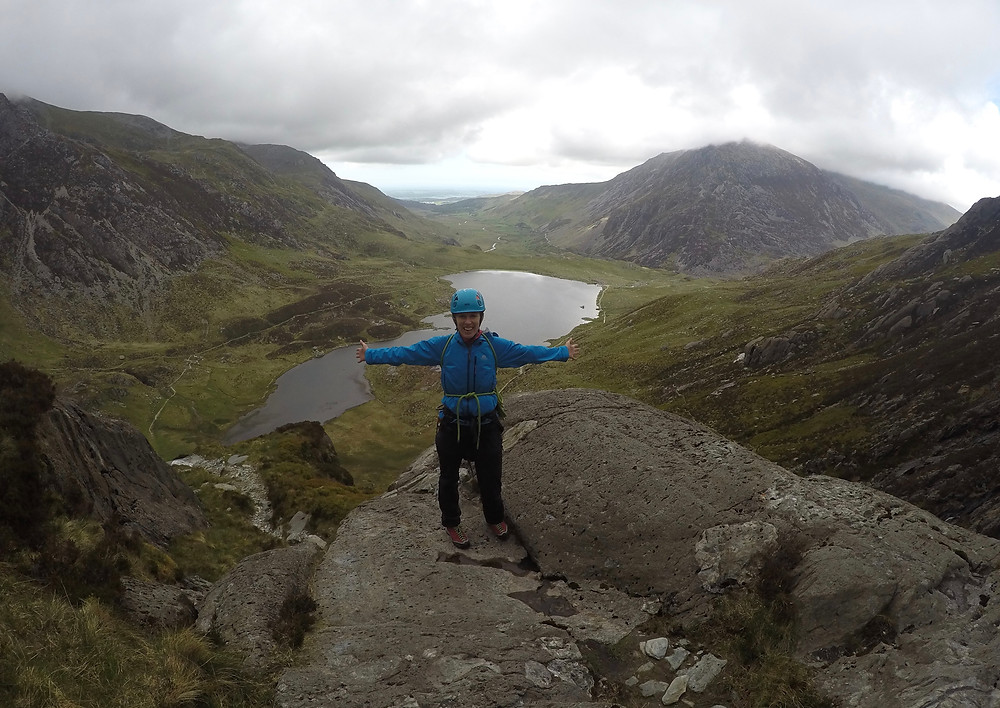 Cwm Idwal from the climbers descent route