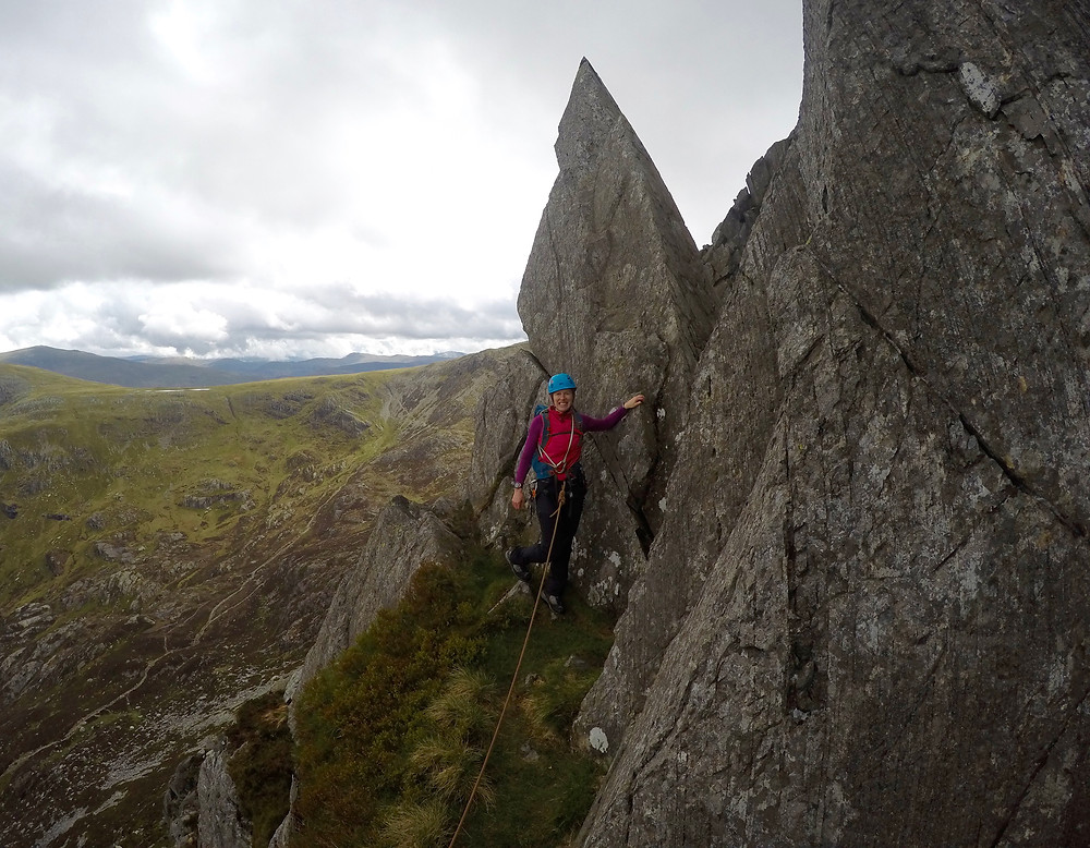The Pinnacle on the East Face of Tryfan