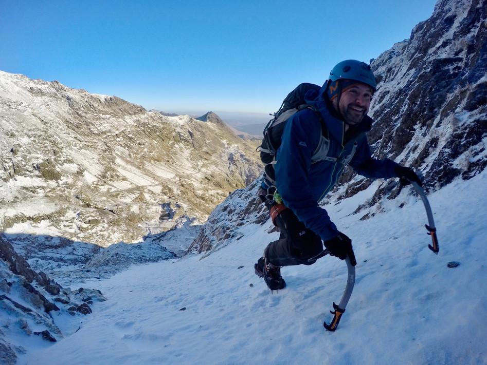 Winter Climbing Snowdonia
