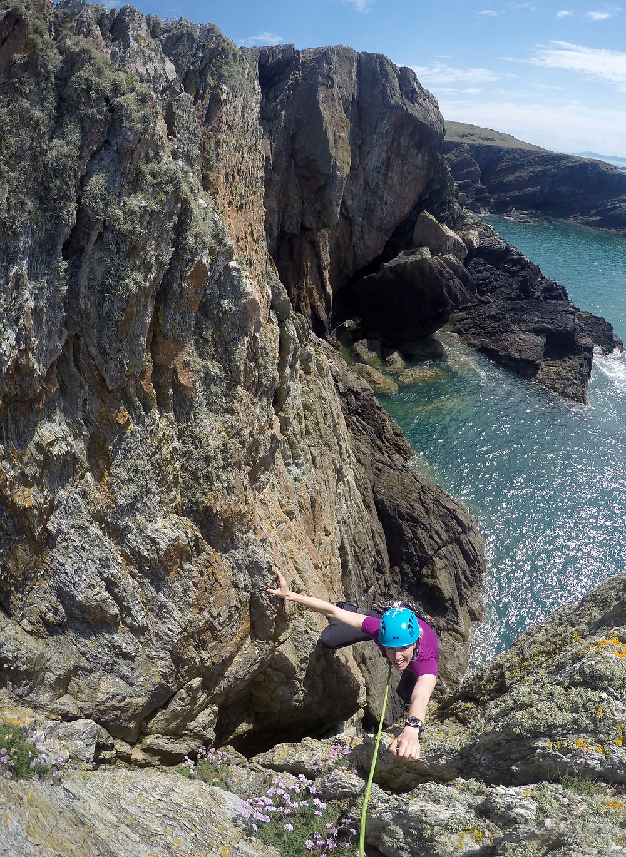 The fantastic Anglesey coastline