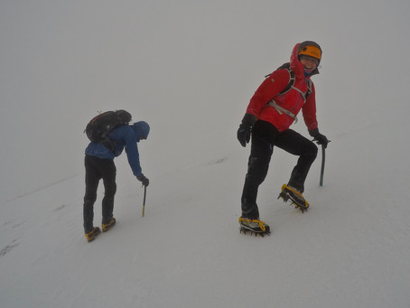 Winter Skills on the Carneddau
