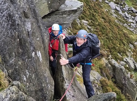 Wet and Windy Scrambling Weekend