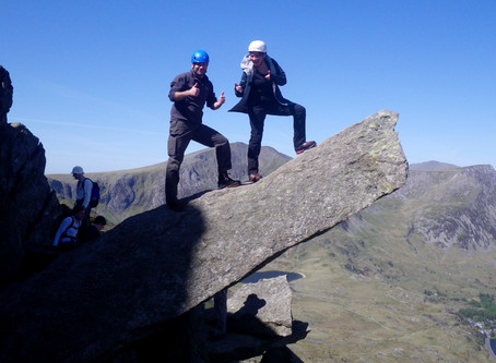 Scrambling for Hillwalkers Weekend