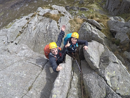 Pinnacle Scramble, Tryfan